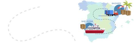 GOODS TRANSPORTATION TO BALEAR ISLANDS